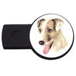 Jack Russell Terrier ^ USB Flash Drive Round (1 GB)