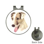 Jack Russell Terrier ^ Golf Ball Marker Hat Clip