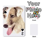 Jack Russell Terrier ^ Playing Cards 54 Designs