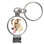 Jack Russell Terrier ^ Nail Clippers Key Chain