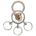 Bull Mastiff ^ 3-Ring Key Chain