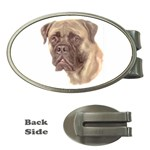 Bull Mastiff ^ Money Clip (Oval)