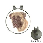 Bull Mastiff ^ Golf Ball Marker Hat Clip