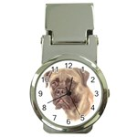 Bull Mastiff ^ Money Clip Watch