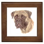 Bull Mastiff ^ Framed Tile