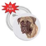 Bull Mastiff ^ 2.25  Button (10 pack)