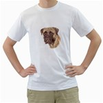 Bull Mastiff ^ White T-Shirt
