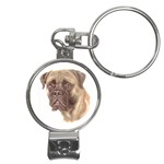 Bull Mastiff ^ Nail Clippers Key Chain