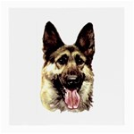 Alsatian ^ Glasses Cloth (Medium