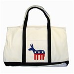 DNC Donkey ^ Two Tone Tote Bag