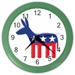 DNC Donkey ^ Color Wall Clock
