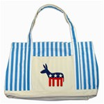 DNC Donkey ^ Striped Blue Tote Bag