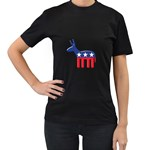 DNC Donkey ^ Women s Black T-Shirt