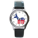 DNC Donkey ^ Round Metal Watch