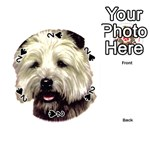 Cairn Terrier ^ Playing Cards 54 (Round)