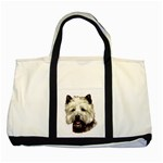 Cairn Terrier ^ Two Tone Tote Bag
