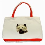 Cairn Terrier ^ Classic Tote Bag (Red)