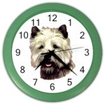 Cairn Terrier ^ Color Wall Clock