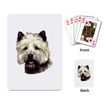 Cairn Terrier ^ Playing Cards Single Design