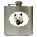 Cairn Terrier ^ Hip Flask (6 oz)