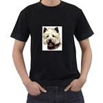 Cairn Terrier ^ Black T-Shirt