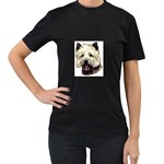 Cairn Terrier ^ Women s Black T-Shirt