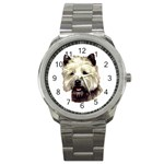 Cairn Terrier ^ Sport Metal Watch