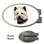 Cairn Terrier ^ Money Clip (Oval)