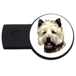Cairn Terrier ^ USB Flash Drive Round (2 GB)