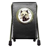 Cairn Terrier ^ Pen Holder Desk Clock