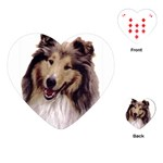 Collie ^ Playing Cards (Heart)