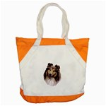 Collie ^ Accent Tote Bag