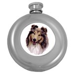 Collie ^ Hip Flask (5 oz)