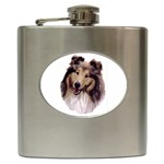 Collie ^ Hip Flask (6 oz)
