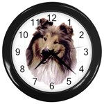 Collie ^ Wall Clock
