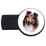 Collie ^ USB Flash Drive Round (2 GB)