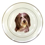 Bearded Collie ^ Porcelain Plate
