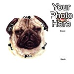 Pug ^ Playing Cards 54 (Round)