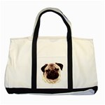 Pug ^ Two Tone Tote Bag