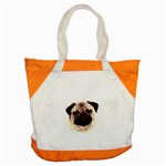 Pug ^ Accent Tote Bag