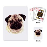 Pug ^ Playing Cards Single Design