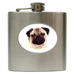Pug ^ Hip Flask (6 oz)