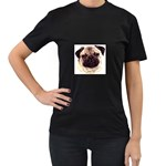 Pug ^ Women s Black T-Shirt