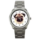 Pug ^ Sport Metal Watch