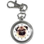 Pug ^ Key Chain Watch