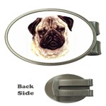 Pug ^ Money Clip (Oval)
