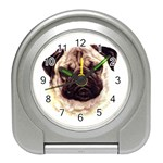 Pug ^ Travel Alarm Clock