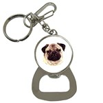 Pug ^ Bottle Opener Key Chain