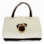 Pug ^ Classic Tote Bag (Two Sides)