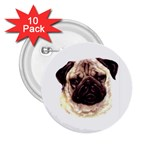 Pug ^ 2.25  Button (10 pack)